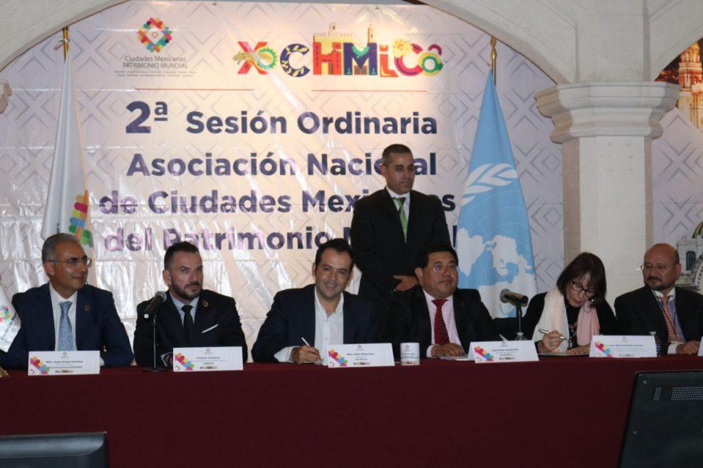 Impulsa Ulises Mejía proyección internacional de Zacatecas y Ciudades Mexicanas del Patrimonio Mundial